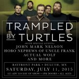 TRAMPLED BY TURTLES |  July 11,2015
