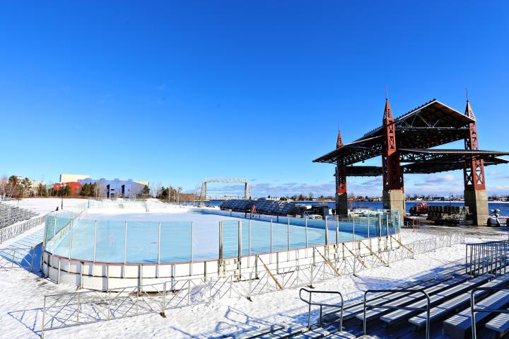 Bayfront Hockey Rink